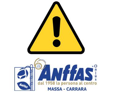 Anffas Avviso Coronavirus